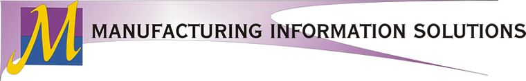 Manufacturing Information Solutions Banner